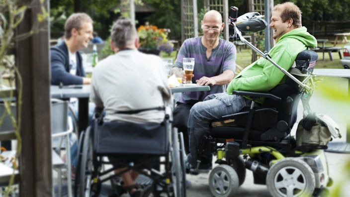Spinal cord injury and bladder problems