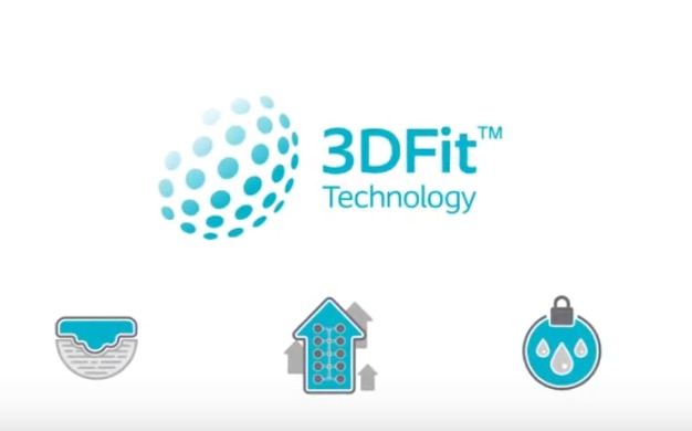 See how Biatain Silicone 3DFit™ Technology fills the gap and prevents exudate pooling.