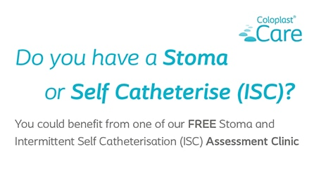 FREE Stoma and Intermittent Self Catheterisation (ISC) Assessment Clinic