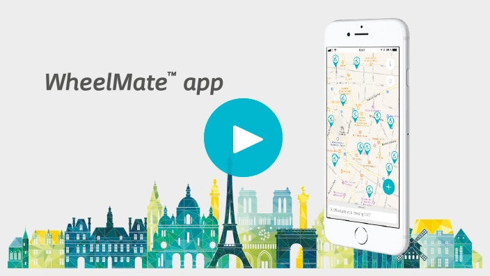 Watch the Wheelmate app video