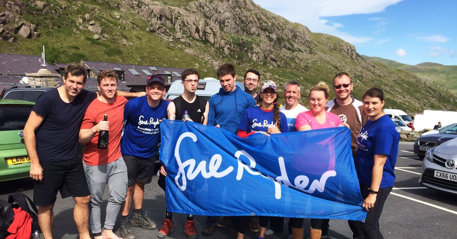 Scaling mountains in the name of charity