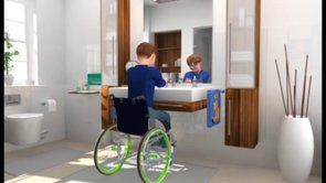 SpeediCath for boys - Wheelchair users