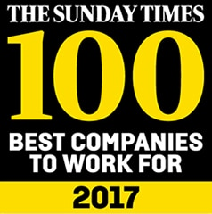 Coloplast recognised as Times Top 100 Companies to work for