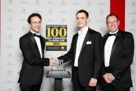 Sunday Times names Coloplast one of the UK's Top 100 medium-sized companies