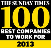 Coloplast named one of the best medium-sized companies to work for in Sunday Times Top 100 2013