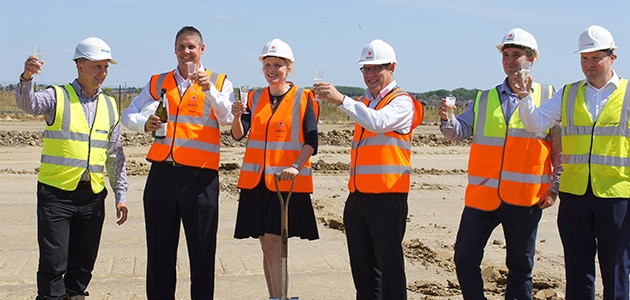 Ground breaking - New UK Distribution Centre