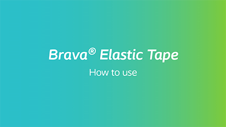 How to use Brava Elastic Tape