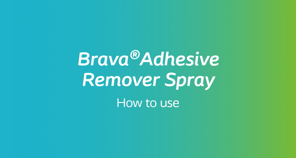 How to use Brava Adhesive Remover Spray
