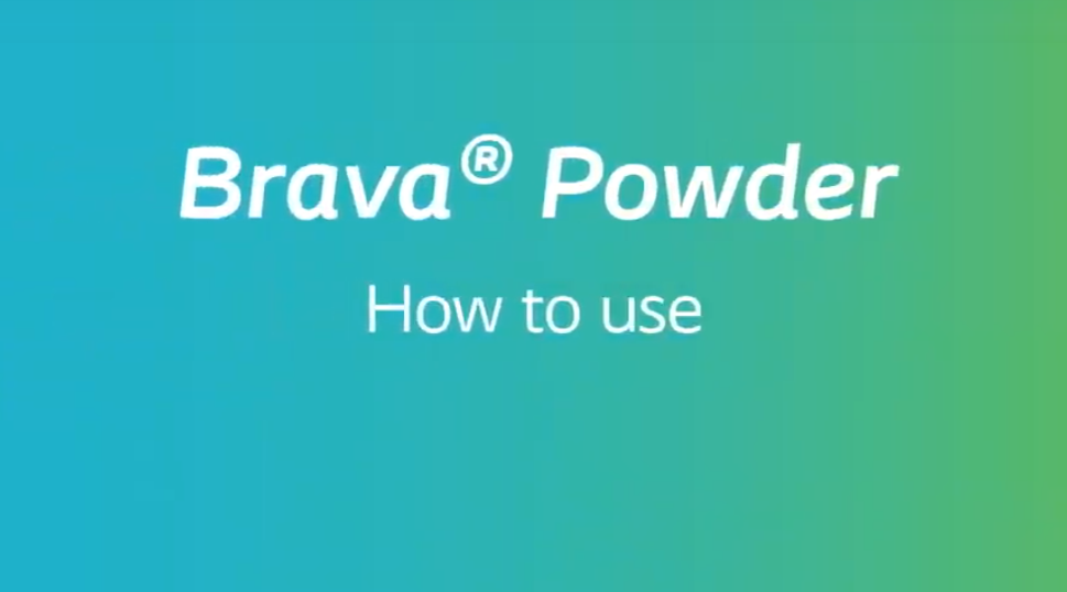 How to use Brava Powder