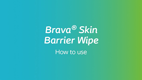 How to use Brava Skin Barrier Wipe